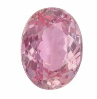 1.24ct Oval AIGS Certified Natural Padparadscha Sapphire