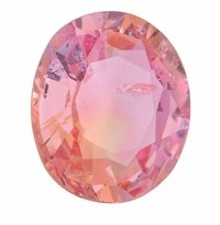 1.83ct Oval GIA Certified Padparadscha Sapphire