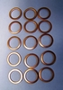 15-Pack Of New Copper Crush Washers For All BMW Master Cylinders and Brake Calipers