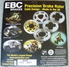 Brand New EBC Stainless Steel Front Brake Rotor, MD650