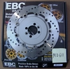 Brand New EBC Stainless Steel Rear Brake Rotor, MD611
