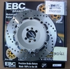 Brand New EBC Stainless Steel Rear Brake Rotor, MD661