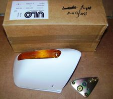 Brand New NOS BMW Right Side  Mirror, W/O Glass, In Primer For All K100RS & K1100RS Bikes