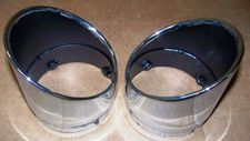 "Brand New ZtechnikChrome Slash Cut Exhaust Tips For R1200C/CL <FONT COLOR=""FF0000""> Only A Few Available</FONT>"