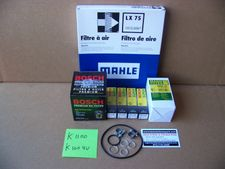 Complete 12/24K Mile Super Maintenance Kit With Engine Oil (10W40 Synth) & Trans/Final Drive Oil (Synth) For All K100 4 Valve & K1100 Bikes