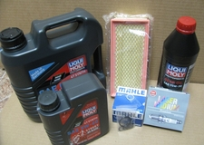 Complete 12/24K Mile Super Maintenance Kit With Oil (5W40 Synthetic) For All K1600 GT/GTL Bikes