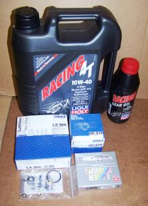 Complete 12/24K Mile Super Maintenance Kit With Oil (10W40 Synthetic) For All K1200R/ GT (GT From 2006) Bikes W/ Current Spec Oil Filter