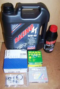 Complete 12/24K Mile Super Maintenance Kit With Oil (10W40 Synthetic) For All K1200R/ GT (GT From 2006) Bikes W/ Early Spec Oil Filter