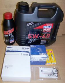 Complete 12/24K Mile Super Maintenance Kit With Oil (Synthetic) For All R1200 Wethead (Liquid-Cooled) Bikes