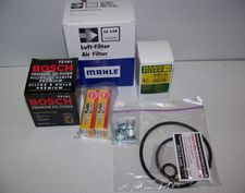 """Complete 12/24K Super Maintenance Kit With Engine Oil (Mineral) & Trans/Final Drive Oil (Synth) For All R1100S Single Spark Bikes <FONT COLOR=""""FF0000"""">Now with 2 inner valve cover gaskets!</FONT>"""