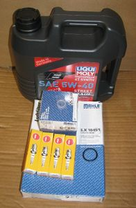 Complete 18K Mile Super Maintenance Kit With Oil (Synthetic) For All (Through 2017) S1000RR, S1000R & S1000XR Bikes