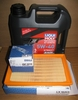 Complete 6/12K Mile Super Maintenance Kit With Oil (Synthetic) For All (Through 2017) S1000RR, S1000R & S1000XR Bikes