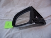 Complete Right Side Mirror, Black With Chrome Plating