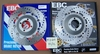 EBC K75/100 2V Front Brake Rotors, Non ABS, Pair MD604LS/RS