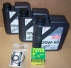 F650 Single (Fuel Injected) 20W50 Engine Oil Change Kit (Mineral)