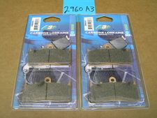 FRONT: Carbone Lorraine Brake Pads 2960A3