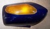 K100/1100RS Right Side Mirror, Blue, Complete
