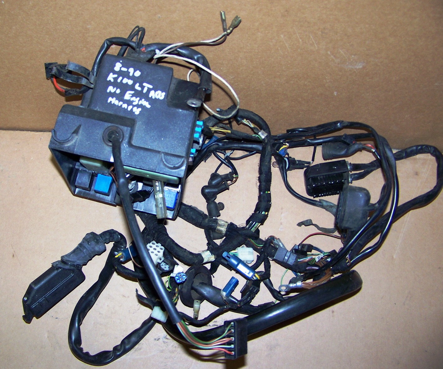 K100/RT/LT (2 Valve Bikes After 4/85) ABS Wiring Harness W ... on