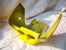 K1100RS Belly Pan, Yellow
