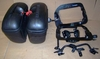 K1200/ 1300S Givi E21 Saddlebags Bags With SW Motech Quick Release Racks and Rear Rack