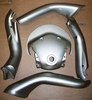 K1200LT (2005 & Later) Complete Set Of Handlebar Covers, Magnesium