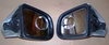 K1200LT Complete Left & Right Side Mirrors, Silver With Chrome Plating