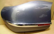 K1200LT Left Side Saddlebag Lid, Strum Gray