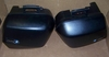 K1200RS/GT Left & Right Side System Cases ,Matte Black, Complete W/Key