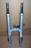 K1200RS (Up To 9/98) Complete Set Of Forks W/Lower Bridge & Ball Joint & Steering Damper, Non-Showa