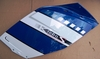 K1200S Right Side Fairing Panel, Indigo Blue/Alpine White