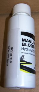 "Magura ""Blood"" Hydraulic Clutch Mineral Oil, Blue, 4oz Bottle"