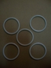 New 5-Pack Of White O-Rings (Airhead Oil Filter Door)
