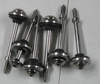 New Aftermarket  Stainless Steel Valve Cover Bolt 6 Pack W/ Seals For All 1994- 2020 R850/ 1100/ 1150/ 1200/ 1250 Bikes