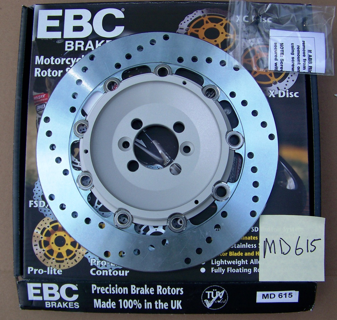 EBC MD615 OE Replacement Brake Rotor BMW K1200LT