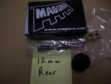 New Magura 12mm Rear Brake Master Cylinder Rebuild Kit, Fits All K75/K100/K1100 ABS & Non ABS Bikes From 10/88