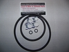 New Oilhead Fuel Filter Change O-Ring & Hose Clamp Kit