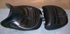 R1100/ 1150RT Corbin Leather Seat Set , Black W/ Black Piping