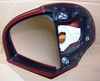 R1100/1150RT Left Mirror, Red, Complete