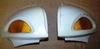 R1100/1150RT Left & Right Mirrors, Complete, White