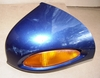 R1100/1150RT Right Mirror, Complete, Dark Blue Metallic (794)