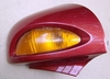 R1100/1150RT Right Mirror, Complete, Sienna Red
