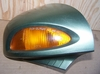 R1100/1150RT Right Mirror, Tundra Green, Complete