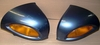 R1100/1150RT Right & Left Mirrors, Titan Gray Metallic, Complete