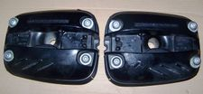 R1100/R1150 (All) Left & Right Side Valve Covers, Single Spark, Black
