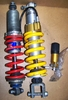 R1100GS Ohlins & Fox Shocks, Front & Rear