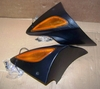 R1100S Left & Right Side Turn Signal Mounting Pods With Amber Turn Signals