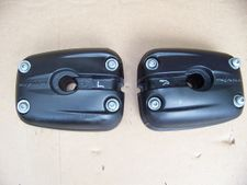R1100S/R1150 Dual Spark (All) Left & Right Side Valve Covers, Black
