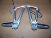 R1100S Right & Left Rear Footpeg Mounting Plates W/Pegs