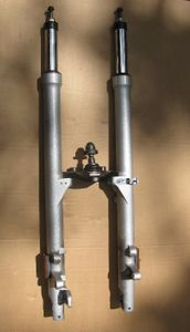 R1150R Complete Forks, Upper and Lowers W/Lower Bridge, Silver