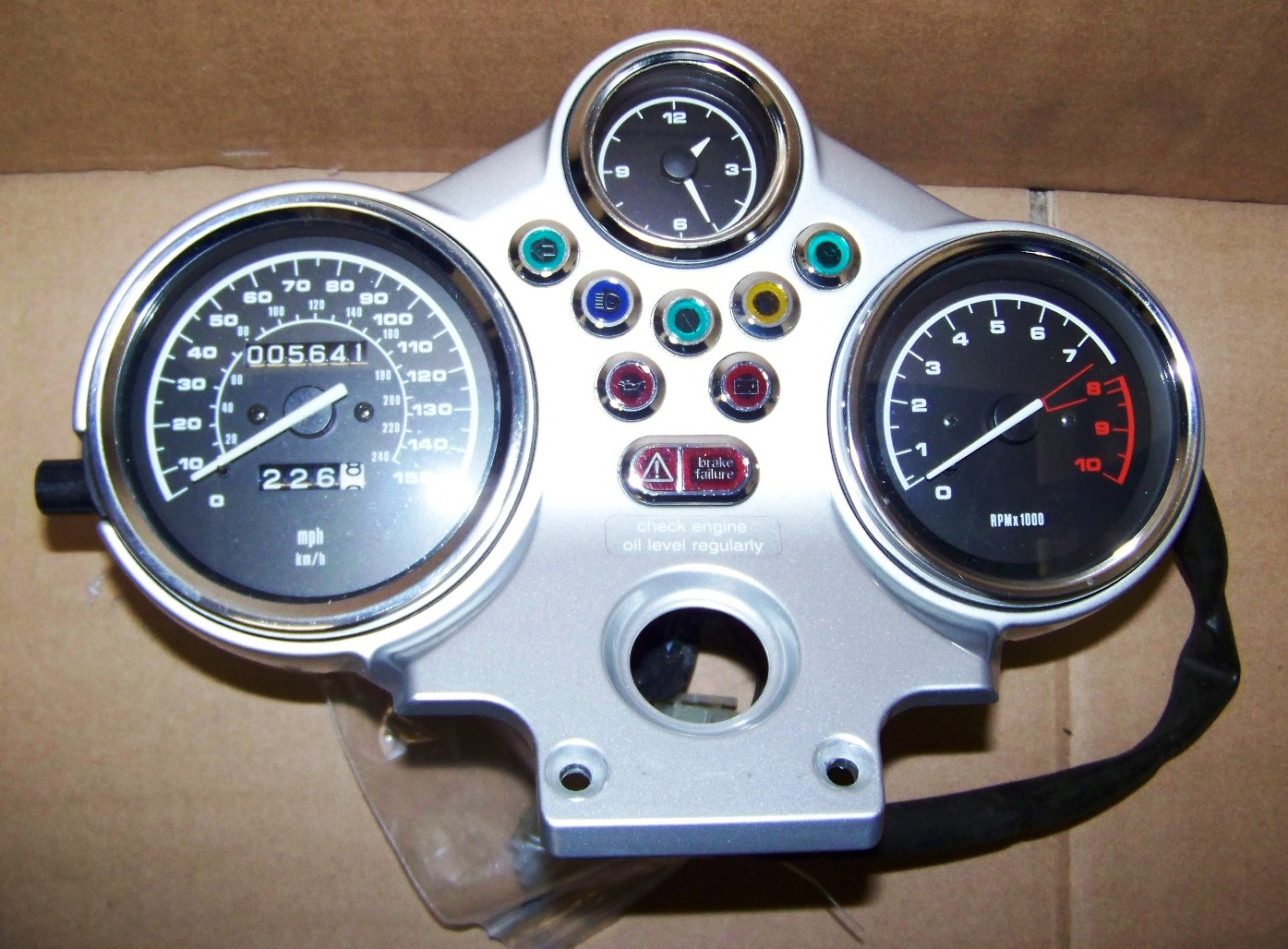 R1150R Complete Instrument Cluster Assembly